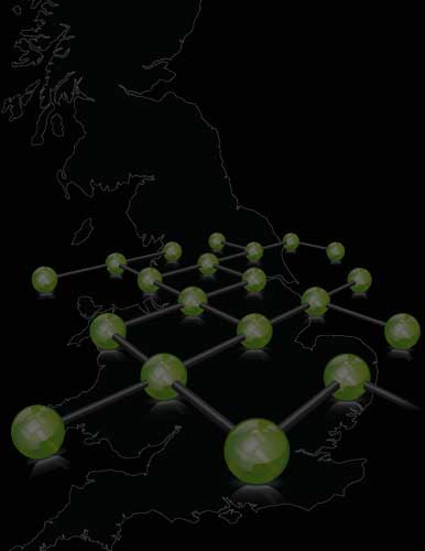 Network Auctions UK coverage map
